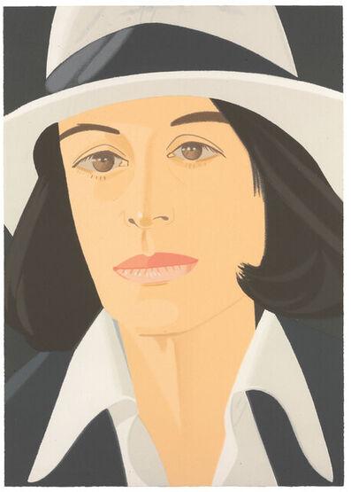 Alex Katz, 'White Hat', 1990