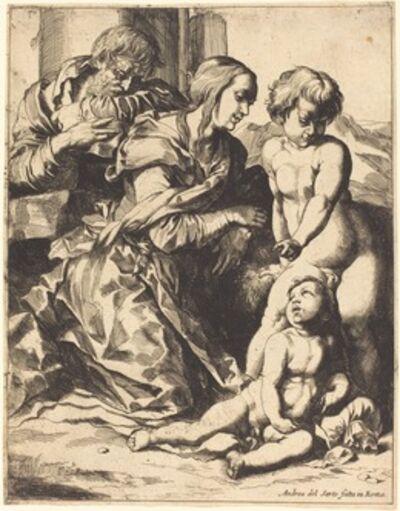 Pierre Brebiette after Andrea del Sarto, 'The Holy Family'