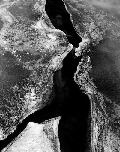 Stu Levy, 'Ice, Oneonta Gorge, Oregon', 1985