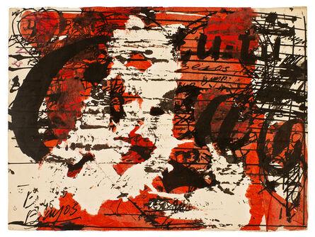 Alberto Greco, 'Besos Brujos', 1965