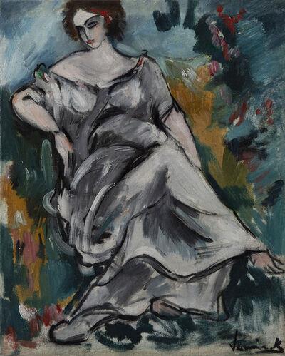 Maurice de Vlaminck, 'Femme assise au jardin', 1905-1906