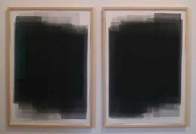 Joachim Bandau, 'Doppel/zwei gleiche Formate', 2003