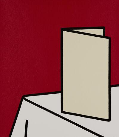Patrick Caulfield, 'Watch me eat, without appetite, à la carte', 1973