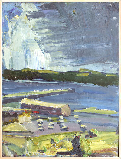 Terry St. John, 'Looking Across the Straits', 2010