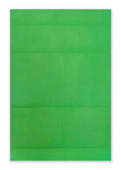 Jeff Kellar, 'Lined Space Green 3', 2020