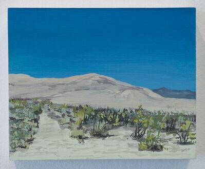 Erika Duque, 'Sand dunes on the way to Joshua Tree', 2016