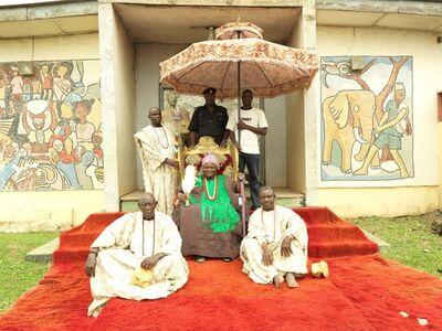 George Osodi, 'HRM Oba Jimoh Oyetunji Olanipekun Larooye II, Ataoja of Osogboland ', 2012