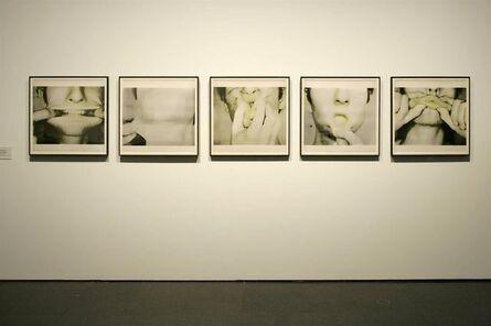 Bruce Nauman, 'Studies for Holograms (a-e)', 1970
