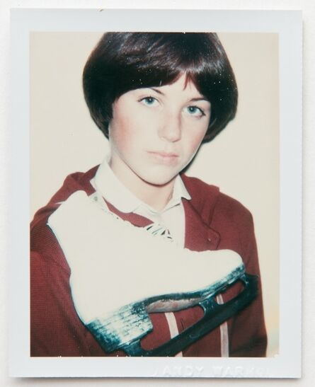 Andy Warhol, 'Andy Warhol, Polaroid Portrait of Dorothy Hamill', ca. 1977
