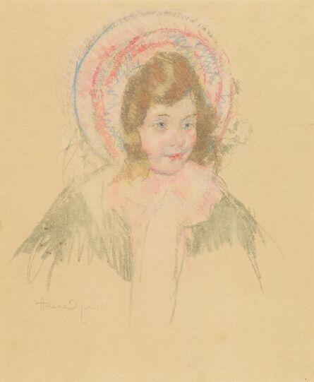 Mary Cassatt, 'Sara Wearing a Bonnet and Coat', ca. 1904/1906