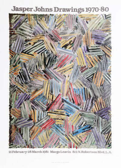 Jasper Johns, 'Drawings 1970-1980 at Margo Leavin Gallery', 1981