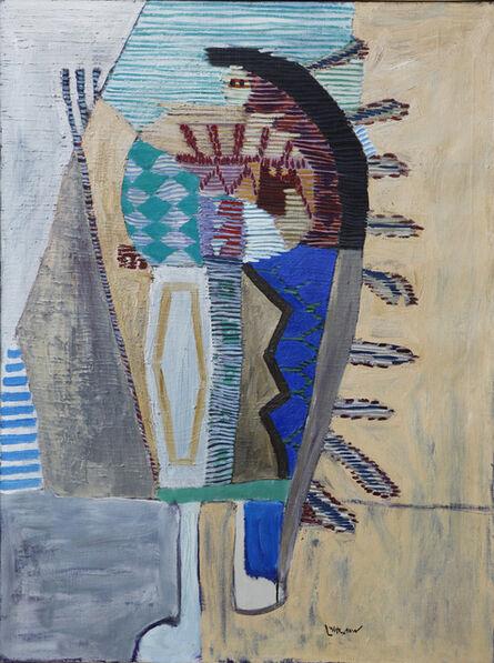 Roy Lichtenstein, 'Indian Chief at Teepee', 1952
