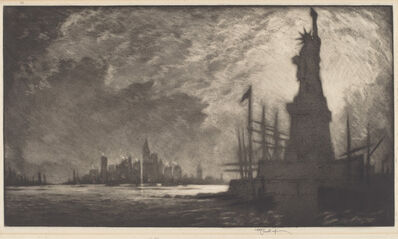 Joseph Pennell, 'Hail America', 1909