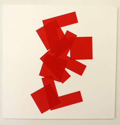 Vera Molnar, 'A base de carrés a', 1999-2009