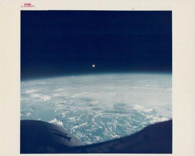 James Lovell, 'Full Moon over the Earth, Gemini 7, December 1965', 1965
