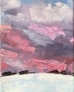 Leigh Ann Van Fossan, 'Spring Pastels in a Winter Sky', 2020