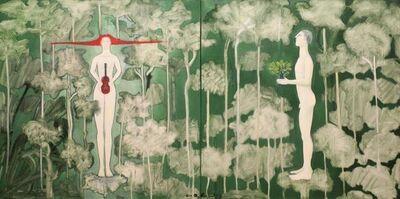 Orlando Agudelo Botero, 'Enchanted Forest - The Offering', 2018