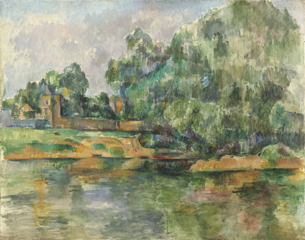 Paul Cézanne, 'Riverbank', ca. 1895