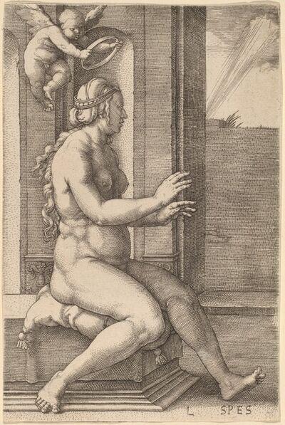Lucas van Leyden, 'Spes (Hope)', 1530
