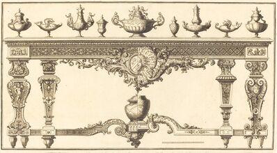 Pierre Lepautre, 'Livre de Tables'