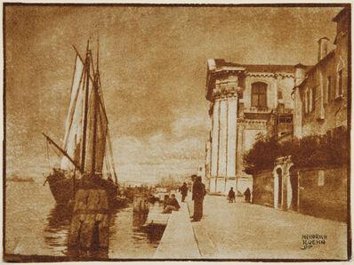 Heinrich Kühn, 'Venice', 1897