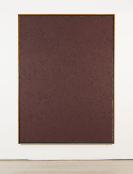 Alan Green, 'Vertical Red Over Grey', 1979