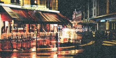 David Drebin, 'Rain In Paris', 2021