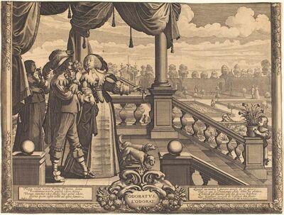 Abraham Bosse, 'Odoratus, L'Ordorat'