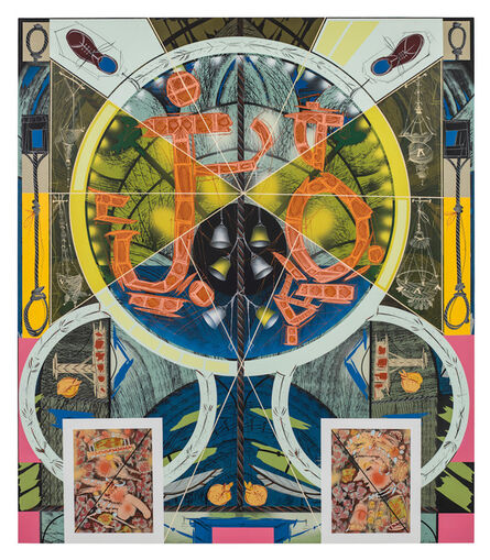 Lari Pittman, 'hought-form Of Image Patterns Revealed At The Time Of Death,', 2012