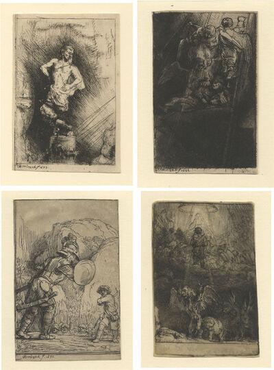 Rembrandt van Rijn, 'Four Illustrations to Menasseh Ben Israhel's Piedra Gloriosa', 1655