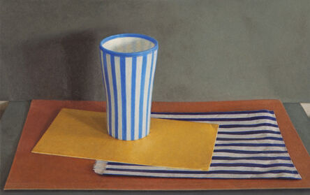 Lucy Mackenzie, 'Striped Cup and Paper Bag', 2012