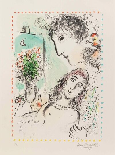 Marc Chagall, 'Tendresse', 1983