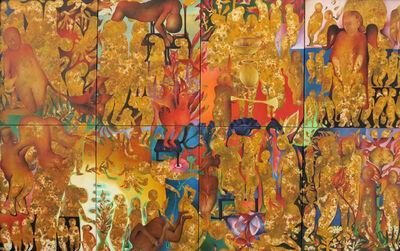 """Teni Vardanyan, '""""Behind of Shadow""""(8 pieces)/""""Gölgenin Arkası"""" (8parçalı)', 2014"""