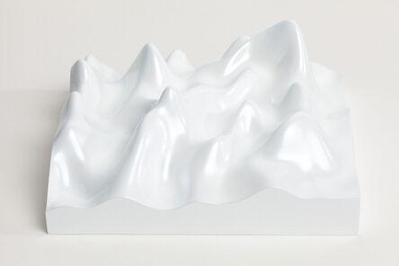 Peter Saville, 'Unknown Pleasure, Miraval 5311, Scenic white on white background', 2015