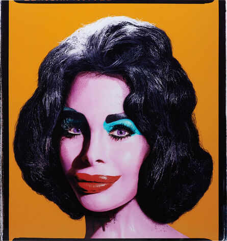 David LaChapelle, 'Amanda as Andy Warhol's Liz (Orange)', 2007