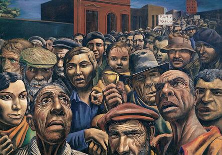 Antonio Berni, 'Manifestación', 1934