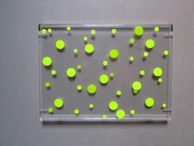 Regine Schumann, 'wandarbeit transparent/gelb', 2009