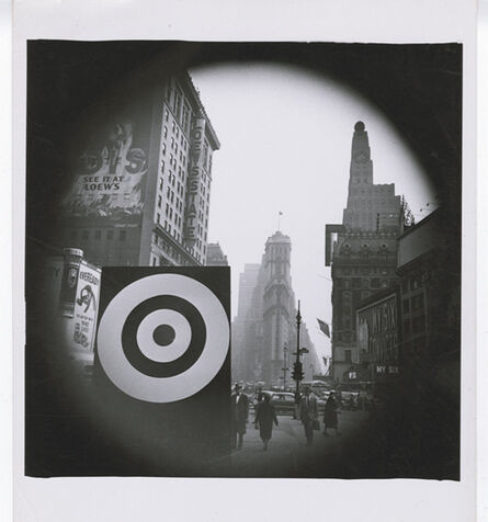 Weegee, 'Bull's Eye in Times Square', ca. 1940