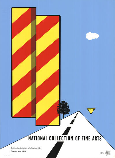 Allan D'Arcangelo, 'Yield', 1968