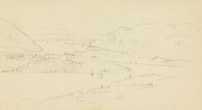 Frederic Edwin Church, 'View of West Point from Castle Rock', ca. 1882-1885