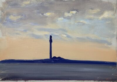 Paul Resika, 'The Tower', 1987