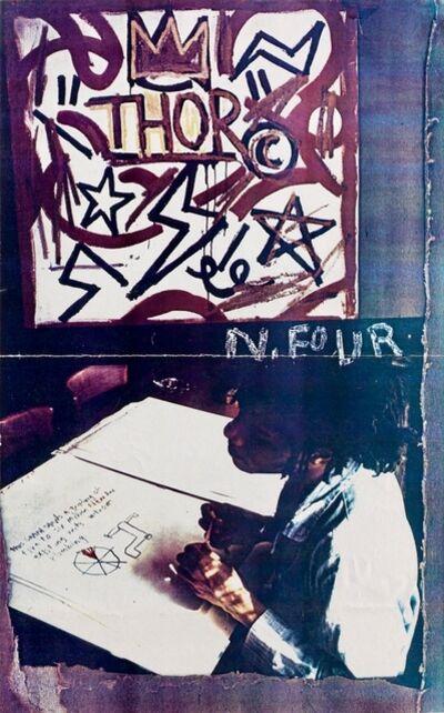 Jean-Michel Basquiat, 'Jean-Michel Basquiat Fun Gallery Invite 1982', 1982