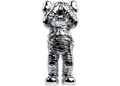 """KAWS, 'Holiday Space: 11.5"""" 20th anniversary edition (silver)', 2020"""