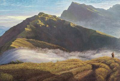 LIU De-Lang, 'Hoping to See Qilai Mountain', 2017