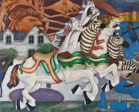 Cory Sewelson, 'Guernica Steeple Chase', 2018