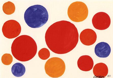 Alexander Calder, 'Untitled (Balloons)', 1967