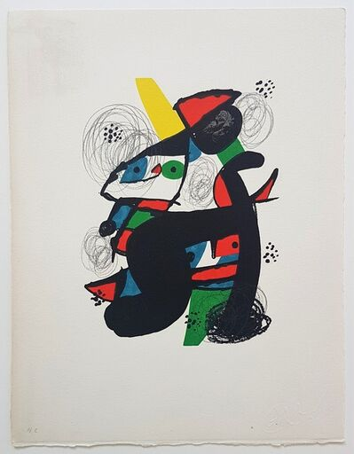 Joan Miró, 'La Mélodie Acide - 11', 1980