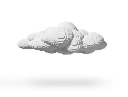 Nathan Sawaya, 'Large Cloud', 2012