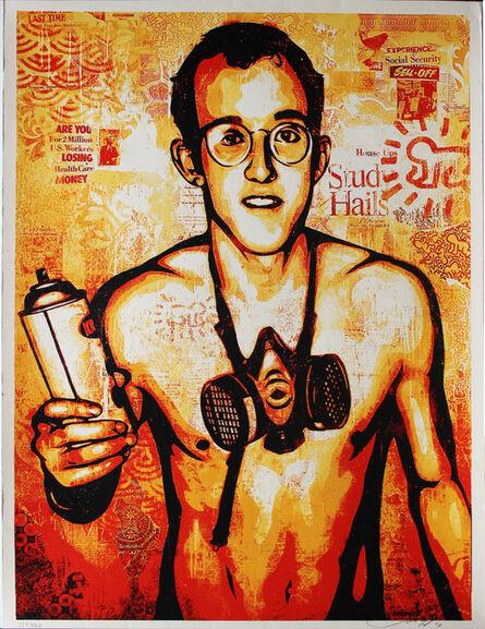 Shepard Fairey, 'Keith Haring', 2010