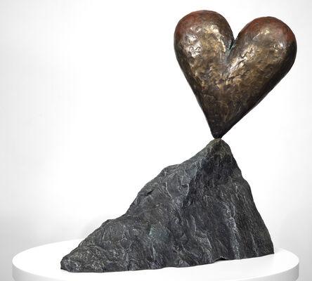 Jim Dine, 'Walla Walla Heart on a Rock', 2005